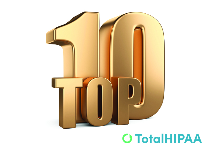 Most Popular HIPAA Topics This Year